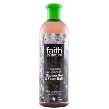 Faith in Nature Lavender & Geranium Bath & Shower Gel 400ml