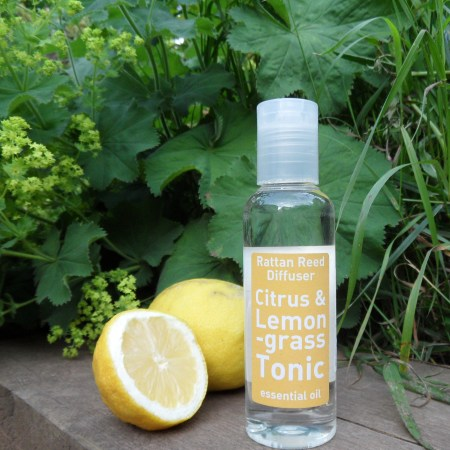Citrus & Lemongrass Tonic Reed Diffuser Oil, 120ml