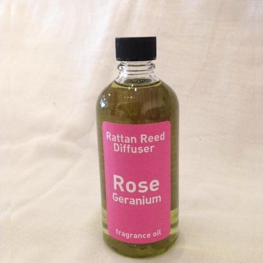 Rose Geranium Reed Diffuser Oil, 100ml